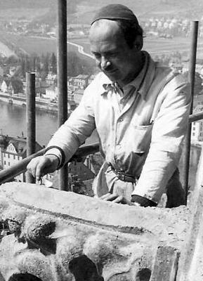 Dombaumeister Richard Triebe